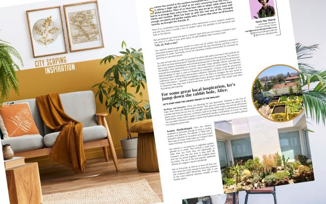 City-scaping Inspiration  Outside & In Magazine - December 2020